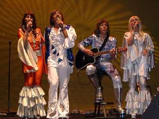ABBA,Revival,Live-Show, Gesang